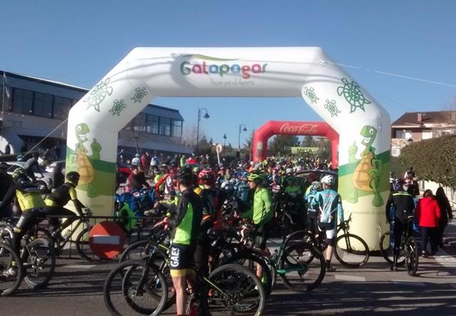 Arco de salida del Rally de los Embalses, Galapagar 2018